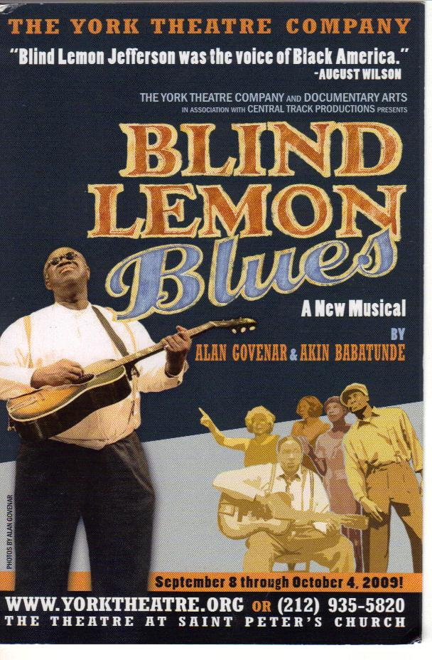 Blind Lemon Blues Front